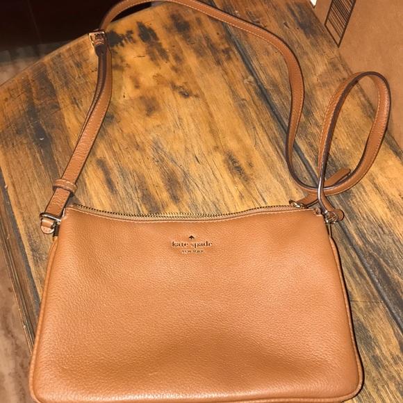 kate spade Handbags - Kate Spade Purse. Brown leather
